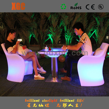 concert furniture from china/led table chair/hotel chair