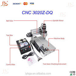 High quality and Newesrt version LY CNC 3020Z-DQ Wood caring machine ,mini cnc router engraver
