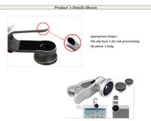 2015 new mobile phone accessories:Universal Fisheye Lens clip kit