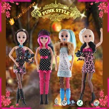Chaoshan Plastic Doll With Fashion Dress For Toy Doll
