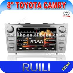 RUILI 2012 NEW! 2 Din 8inch TOYOTA CAMRY Car DVD player with Win CE 6.0 support PIP