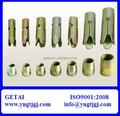 Varios tuercas especial para la expansión de los pernos de anclaje