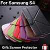 2015 New Product OEM PU Leather Soft Custom Mobile Phone Case For Samsung Galaxy S4