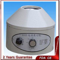 800D CE ISO Metal cover low speed centrifuge machine price
