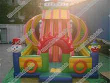 Clown Jumping Slide For Sale