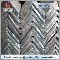 Unequal equal price galvanized tensile strength of steel angle bar