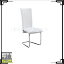 Modern PU Leather Metal Luxury Hotel Dining Room Chair,For Young People