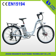 Green power lithium battery 250w motor electric bike