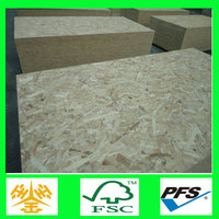 Manufacturer direct sale oriented wood chipboard for russian market