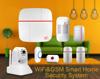 Stable WIFI sever WIFI burglar alarm system & APP control Wireless GSM security home alarm system IP based cloud