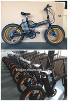 fat tire mountain folding e bicycle with zoom bike parts and bafang 8fun motor
