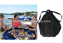 Black Lifestyle Activity Mat and Storage bag with Draw String