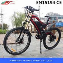 2015 electric mountain bike, 500W electric bike motor mid drive with EN15194