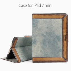 New Arrival Vertical flip genuine leather case for ipad 2 3 4