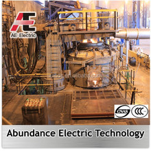 New electric arc furnace to reduce production costs used in steelmaking plant in abroad