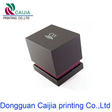 New Synthetic leather finish plastic finger ring box