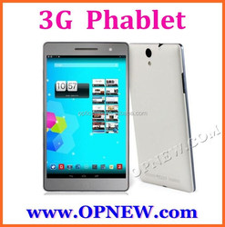 "7"" Octa Core 3G phablet Dual sim card Phone tablet 3G WCDMA GSM MI7"
