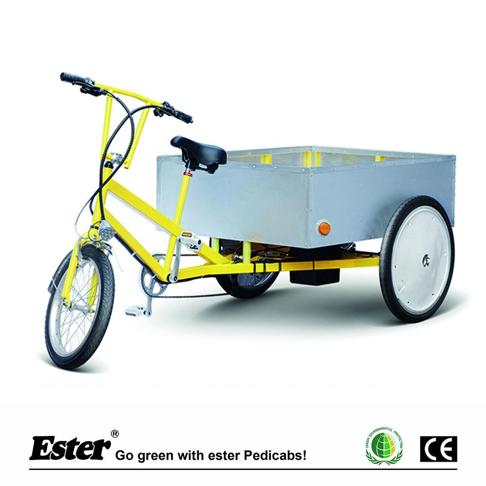 Tres ruedas Pedal triciclo de carga