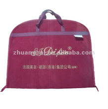 polypropylene foldable recycle customized eco non woven garments bags suit cover