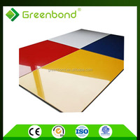 Greenbond aluminium composite digital from panel production line
