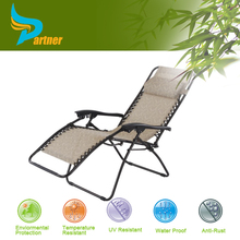 TLH-049 Outdoor Furniture Hotel Aluminum Canvas Folding Modern Sun Lounge Chair