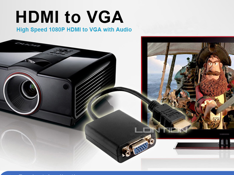 Wholesale High speed s-video vga rca to hdmi converter supplier