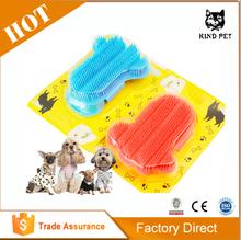 2014 New Glove Cat Grooming Mitt Pet Brush Wholesale