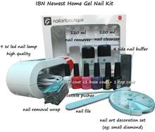 Good package nail acrylic kit, nail uv led gel polish/nail gel polish set