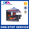 2015 Hot Selling Fashionable Design Custom Printing Aluminium Frame Material Tent