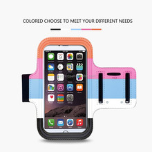 Multi-color Portable Runing Sports Arm Band Bag for iphone 6, for iphone 6 Neoprene Armband