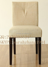 2015 new modern dining chair solid wood hotel chair hot sale