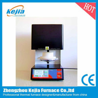 silicon carbide heater vacuum dental porcelain furnace with mini vacuum pump