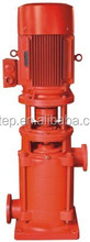 electrical cast iron fire pump electric motor water pump