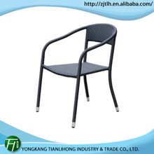 PROMOTIONAL PRICES!! stacking aluminum cheap wicker rattan chairs