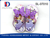 2015 new design beautiful eva butterfly shoes