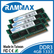 branded export surplus DDR3 SO-dimm 1333MHz 4GB memory module. 256*8*16c Laptop notebook computer memoria ram sodimm rammax