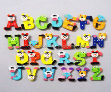 Interesting color 26 learn the alphabet,wooden kids education toy