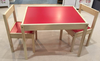 factory price kids wooden table and chair modern school desk and chair school desk and bench