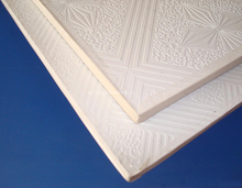PVC laminated gypsum board 600x600x8mm