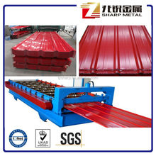 COLOR COATED CORRUGATE FOR ROOFING /ROOFIG SHEET / PAINTED CORRUGATED STEEL SHEET