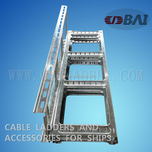 Steel HDG type stainless steel cable ladder tray accessories For ships and buildings Professional factory