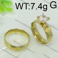2015 Powell Newest Arrival lock and key wedding band promise ring