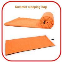 Wholesale popular waterproof cheap warm camping sleeping bag foldable envelope sleeping bag 1.3kg
