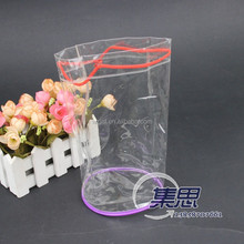promotional clear pvc string bag