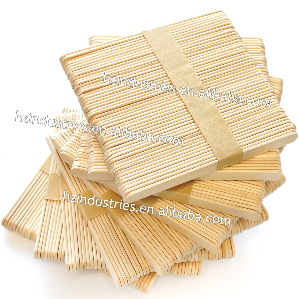 Hot sale wooden ice cream sticks popsicle sticks with good for Designs using ice cream sticks