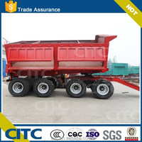CITC brand low price small dump trailer / farm dump trailer trucks for sale