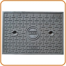 Cast iron light duty access cover 18 24 manhole cover