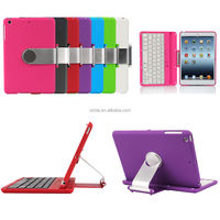 Cover Case Swivel Rotary Stand Bluetooth Keyboard for iPad mini 3 & 1 & Retina 2