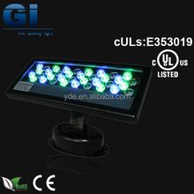 UL cUL IP68 LED wall washer high power wall washer lamp
