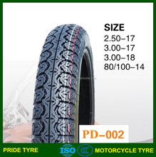 best selling motorcycle tire 300-17, 3.00-18 motorcycle tire and tube